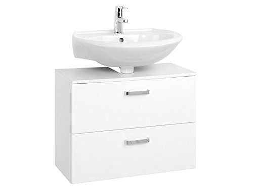 """Unterbeckenschrank Badmöbel Badezimmermöbel Waschbeckenunterschrank """"Bologna I"""" (70 cm)"""